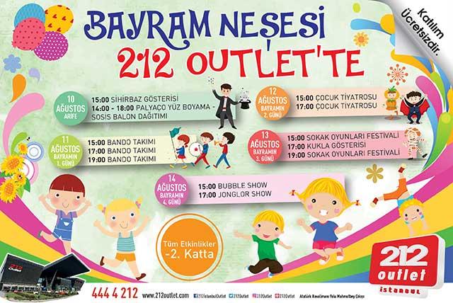 212 Outlet Kurban Bayrami Etkinlik Avmdergi Turkiye Nin Avm Ve
